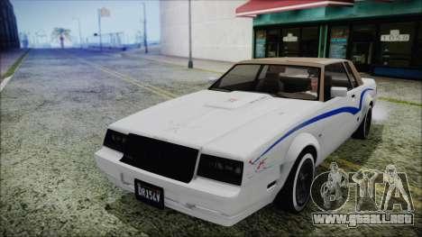 GTA 5 Willard Faction Custom Bobble Version IVF para la vista superior GTA San Andreas