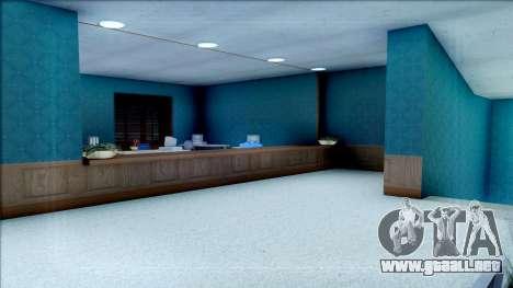 New Interior for SFPD para GTA San Andreas sexta pantalla