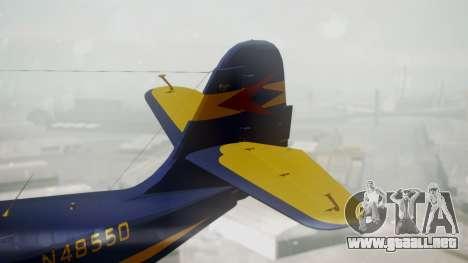 Grumman G-21 Goose N48550 para GTA San Andreas vista posterior izquierda
