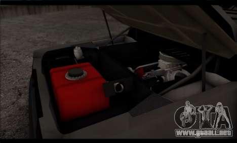 BMW M1 E26 Rusty Rebel para vista inferior GTA San Andreas
