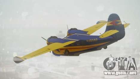 Grumman G-21 Goose N48550 para GTA San Andreas left