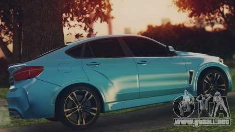 BMW X6M F86 v2.0 para GTA San Andreas left