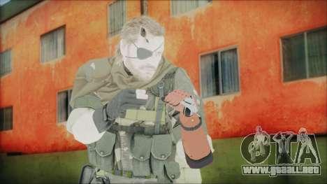 MGSV Phantom Pain Snake Scarf Splitter para GTA San Andreas
