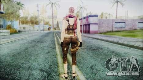 Mila Short Hair from Counter Strike v2 para GTA San Andreas tercera pantalla