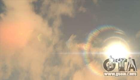 Cleo SkyBox para GTA San Andreas segunda pantalla