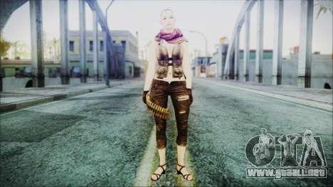 Mila Short Hair from Counter Strike v2 para GTA San Andreas segunda pantalla