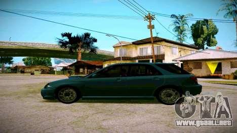 Subaru Impreza WRX STI Wagon para GTA San Andreas left