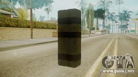 GTA 5 Satchel para GTA San Andreas segunda pantalla