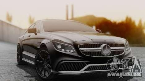 Mercedes-Benz CLS 63 AMG W218 para GTA San Andreas