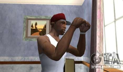 Wear the Cap para GTA San Andreas