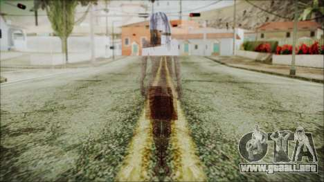 Ghost of Kayako Saeki para GTA San Andreas segunda pantalla