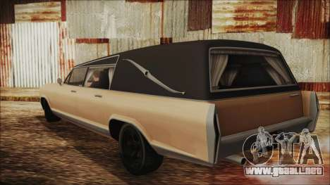 GTA 5 Albany Lurcher para GTA San Andreas left