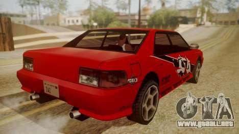 Sultan FnF Skins para visión interna GTA San Andreas