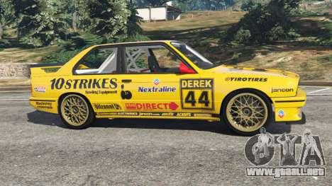 GTA 5 BMW M3 (E30) 1991 [10 strikes] v1.2 vista lateral izquierda