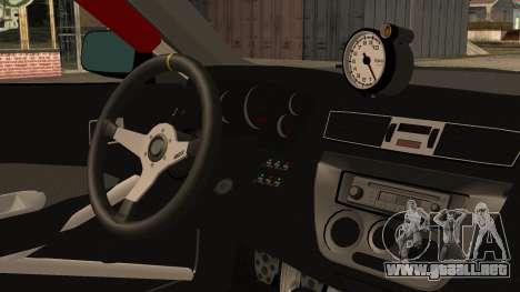 Mitsubishi Lancer Evolution Pushkar para la visión correcta GTA San Andreas