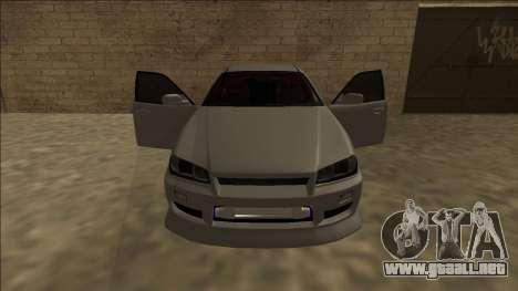 Nissan Skyline ER34 Drift para visión interna GTA San Andreas