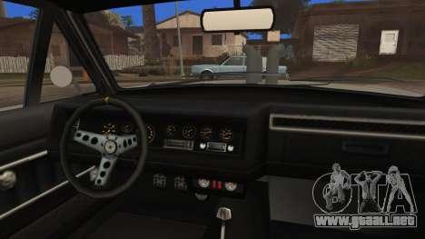 Blade Custom para la visión correcta GTA San Andreas