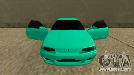 Nissan Skyline R32 para GTA San Andreas interior