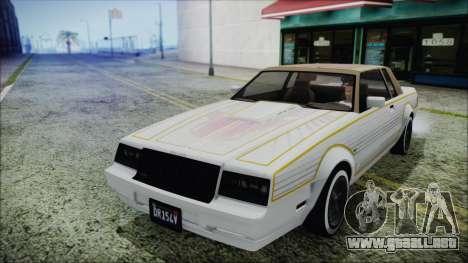 GTA 5 Willard Faction Custom Bobble Version IVF para visión interna GTA San Andreas