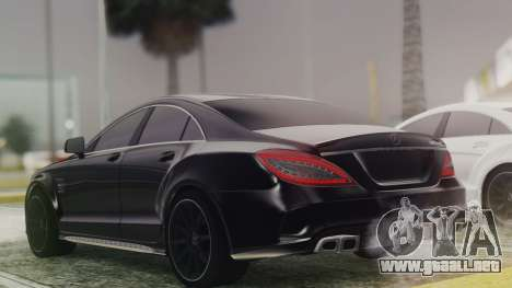 Mercedes-Benz CLS 63 AMG W218 para GTA San Andreas left