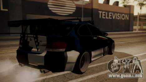 BMW 1M E82 with Sunroof para vista inferior GTA San Andreas