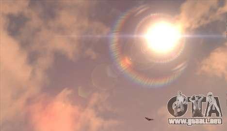 Cleo SkyBox para GTA San Andreas quinta pantalla