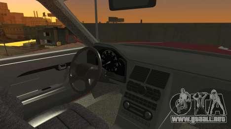 Sentinel PFR HD v1.0 para visión interna GTA San Andreas