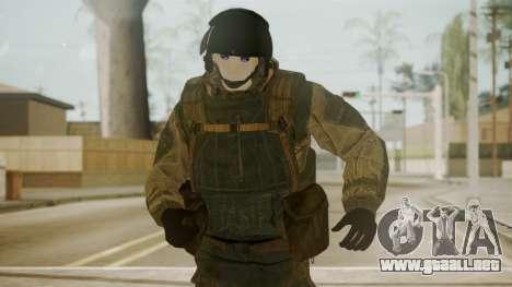 Spetsnaz Operator - 2010s para GTA San Andreas tercera pantalla