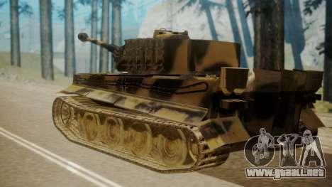 Panzerkampfwagen VI Tiger Ausf. H1 para GTA San Andreas left