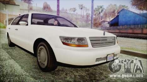 GTA 5 Albany Washington IVF para GTA San Andreas