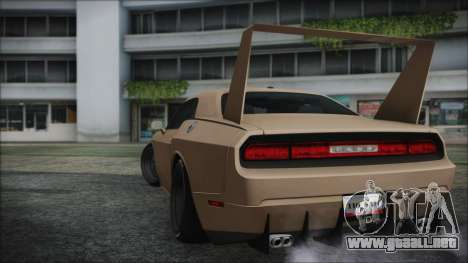 Dodge Challenger Daytona para GTA San Andreas left