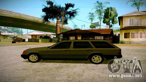 Mercedes-Benz E200 W124 para GTA San Andreas left