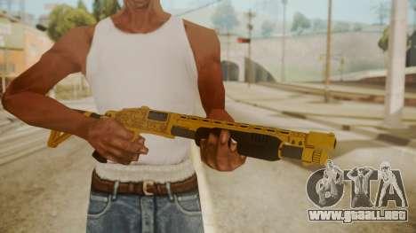 GTA 5 Pump Shotgun para GTA San Andreas tercera pantalla