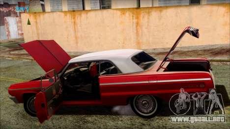 Chevrolet Impala SS 1964 Final para las ruedas de GTA San Andreas