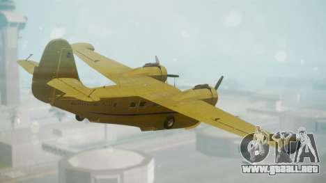 Grumman G-21 Goose VHLXD para GTA San Andreas left