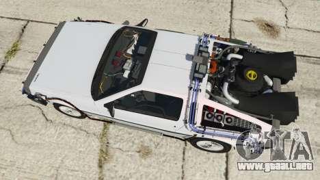 DeLorean DMC-12 Back To The Future para GTA 5