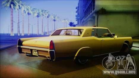 GTA 5 Vapid Chino Hydraulic Version IVF para GTA San Andreas left