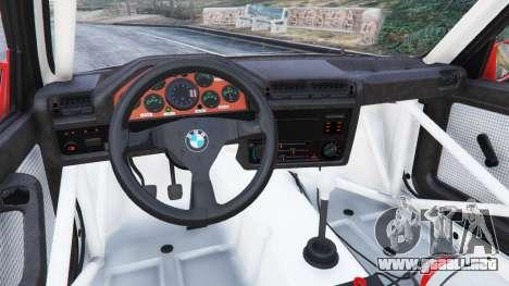 GTA 5 BMW M3 (E30) 1991 [Nalan] v1.2 vista lateral derecha