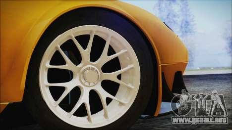 Ford GT-R mk.7 para GTA San Andreas vista posterior izquierda
