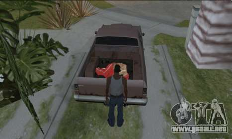 Para llevar el cadáver para GTA San Andreas tercera pantalla