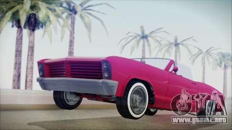 GTA 5 Albany Buccaneer Custom IVF para GTA San Andreas