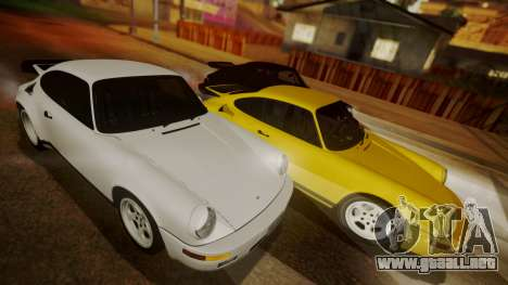 RUF CTR Yellowbird (911) 1987 HQLM para GTA San Andreas left