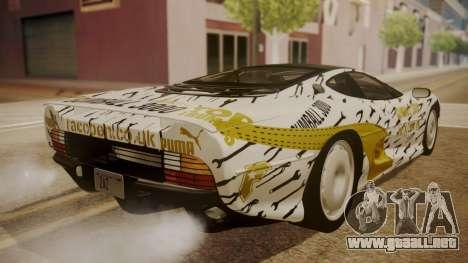Jaguar XJ220 1992 HQLM para las ruedas de GTA San Andreas