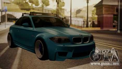 BMW 1M E82 with Sunroof para GTA San Andreas