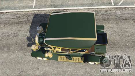 GTA 5 Ford Model T [one color] vista trasera