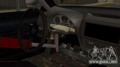 All New Sultan para visión interna GTA San Andreas