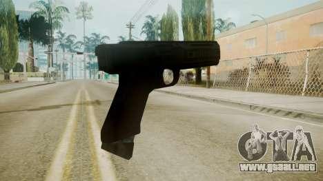 GTA 5 Tec9 para GTA San Andreas segunda pantalla
