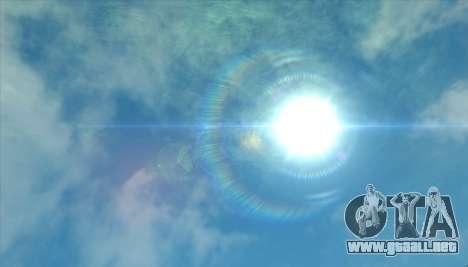 Cleo SkyBox para GTA San Andreas sucesivamente de pantalla