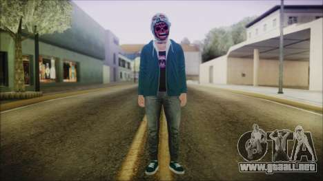 DLC Halloween GTA 5 ZombieCraneo para GTA San Andreas segunda pantalla