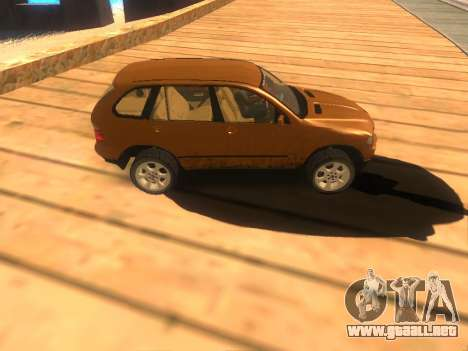 BMW X5 para GTA San Andreas left